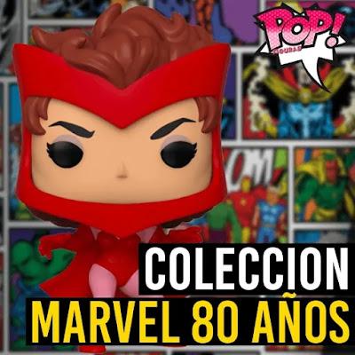 Lista de figuras Funko POP Marvel 80
