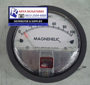 Jual Temperature Suhu Magnehelic 2000-100PA di Gresik