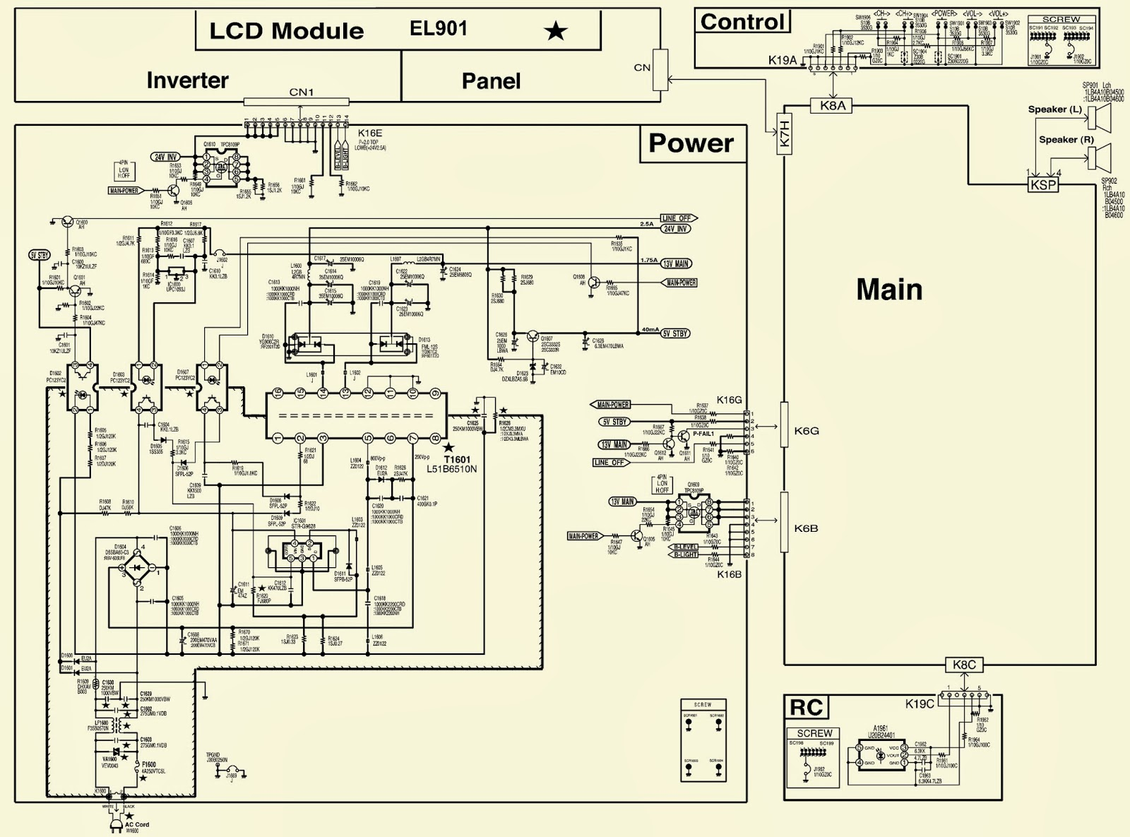 sanyo dp23845 - how to enter service mode - troubleshoot ... dell 24 pin power supply wiring diagram sanyo power supply wiring diagram #8