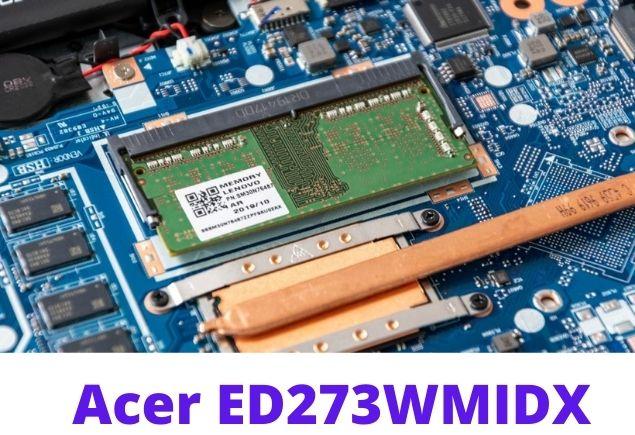 Acer ED273 inside 2