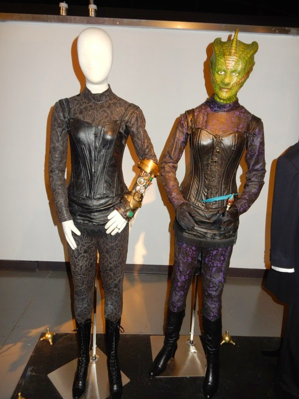 Jenny Flint Madame Vastra costumes Doctor Who Deep Breath