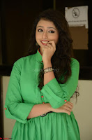 Geethanjali in Green Dress at Mixture Potlam Movie Pressmeet March 2017 071.JPG