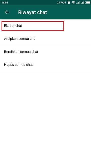 Cara Melihat History Whatsapp di Komputer