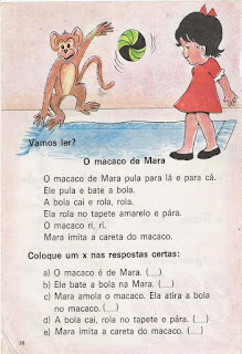 Leitura O macaco de Mara