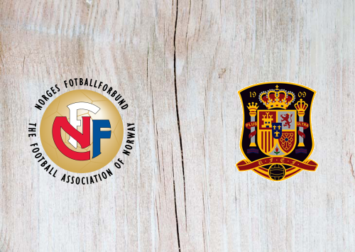 Norway vs Spain Full Match & Highlights 12 October 2019