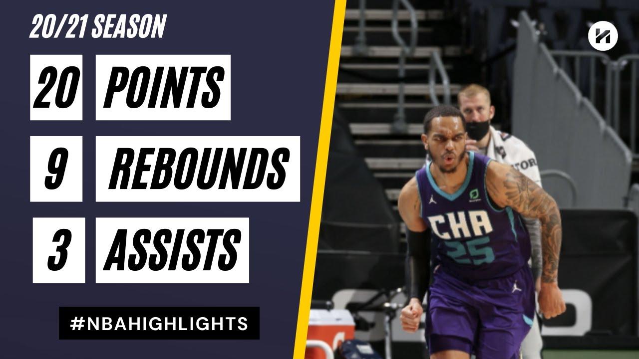 P.J. Washington 20pts 9reb vs DET | March 11, 2021 | 2020-21 NBA Season
