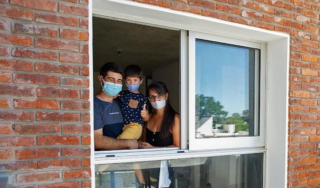 Programa de alquiler con opción a compra entregó 15 soluciones habitacionales en nuevo complejo de 40 viviendas