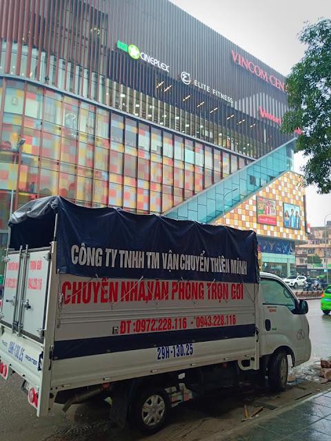 Dịch vụ vận chuyển nhà giá rẻ tại Hà Nội