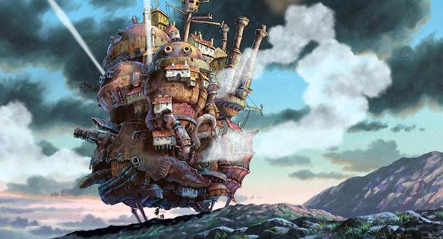 Imagen de la película de animación de Studio Ghibli el Castillo Ambulante