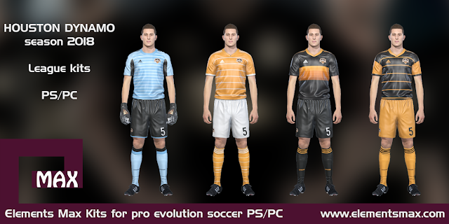 Houston Dynamo PES kits
