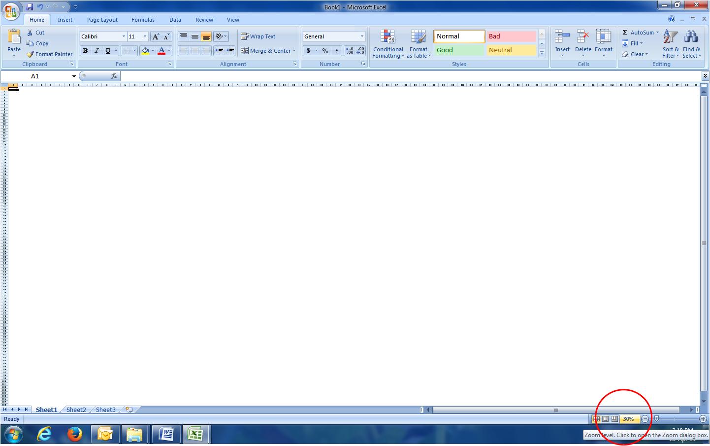 Worksheet Header Excel