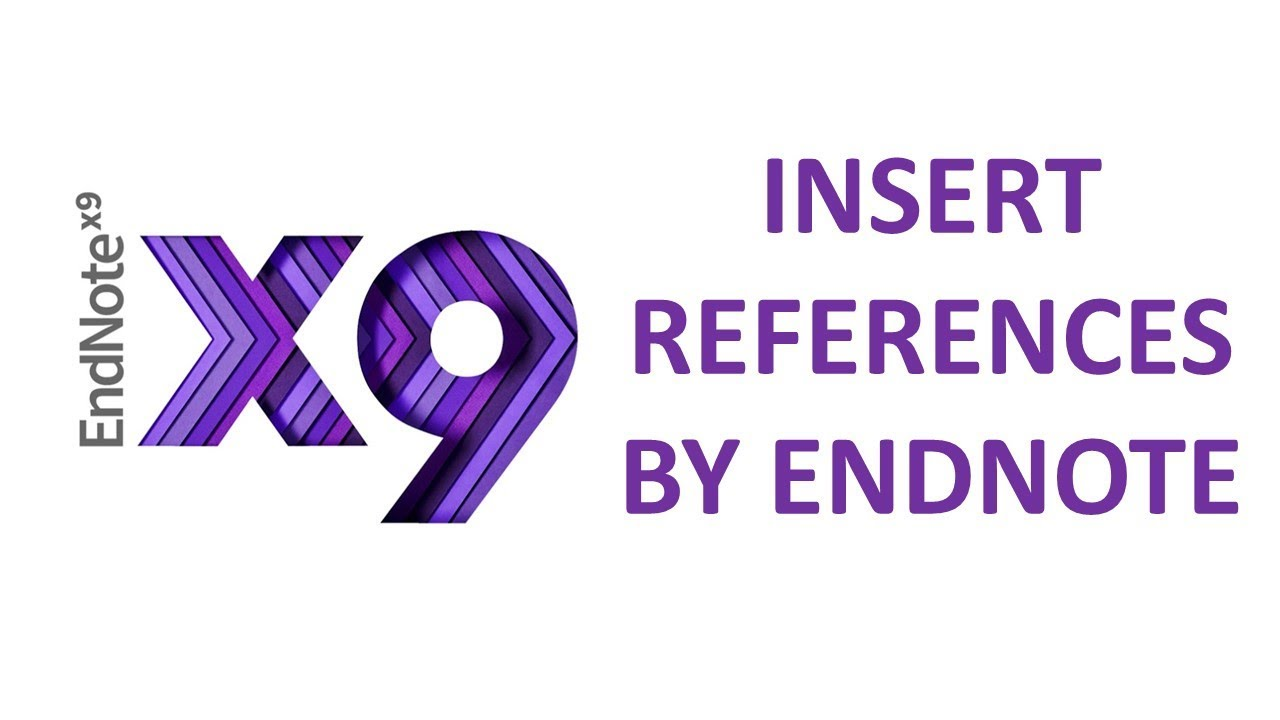 How to use EndNote for reference management
