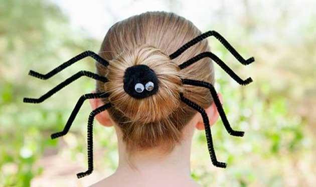 Penteados para Halloween: Crianças