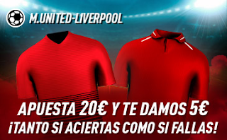 sportium Promo United vs Liverpool 20-10-2019