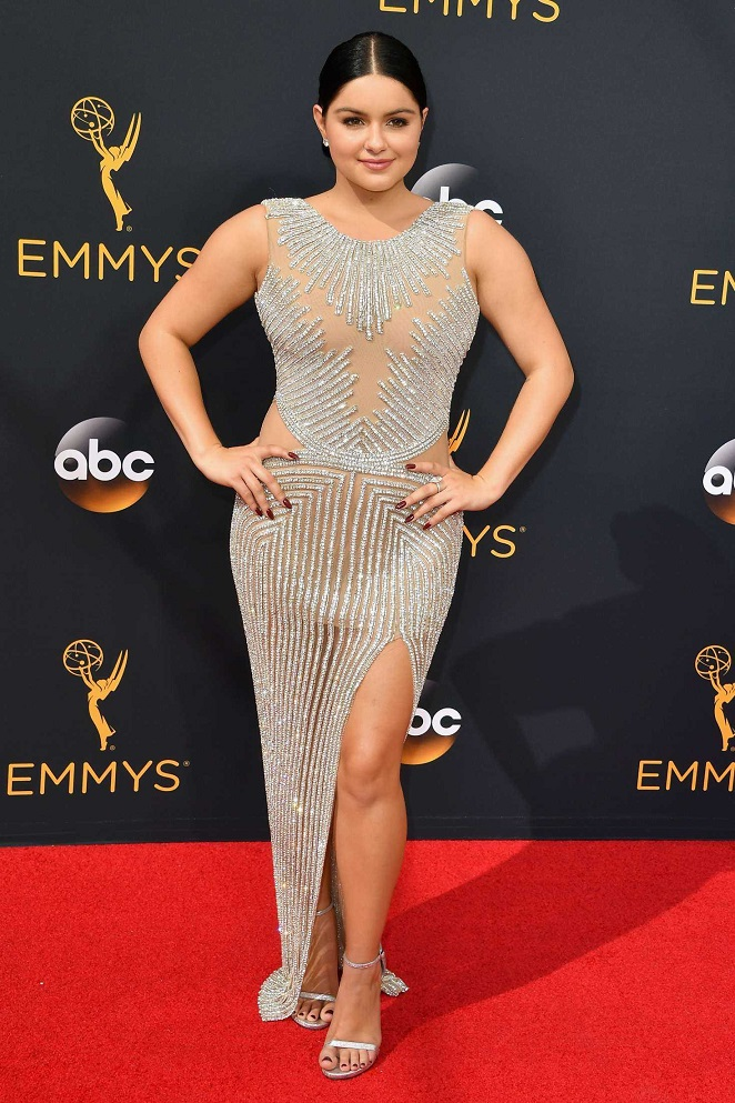 Ariel Winter copies Kylie Jenner at the 2016 Emmy Awards