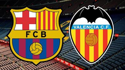 مشاهدة مباراة برشلونة ضد فالنسيا 18-12-2020 بث مباشر في الدوري الاسباني