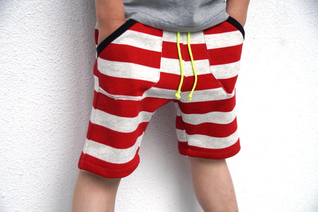 domi sweat shorts (pattern sofilantjes) by huisje boompje boefjes