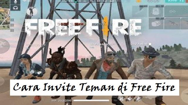 Cara Invite Teman di Free Fire