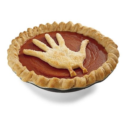 Handprint  Pumpkin Pie Recipe