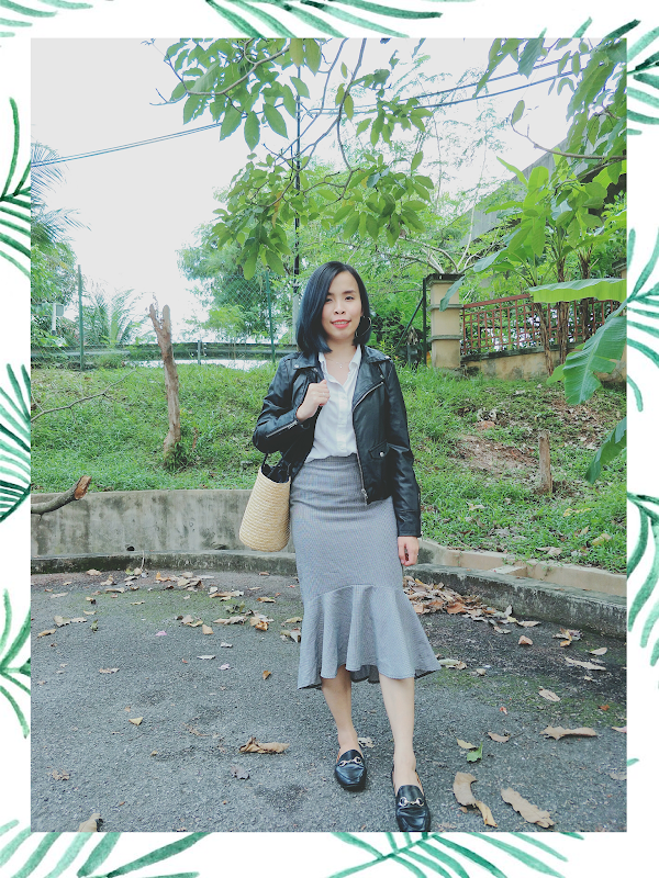 Simple Monochrome Weekend Outfit #65