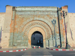Puerta; Almohade; Bab Agnaou Bab; Agnaw; Marrakech; مراكش; ⴰⵎⵓⵔⴰⴽⵓⵛ; Marruecos; Morocco; Maroc; المغرب