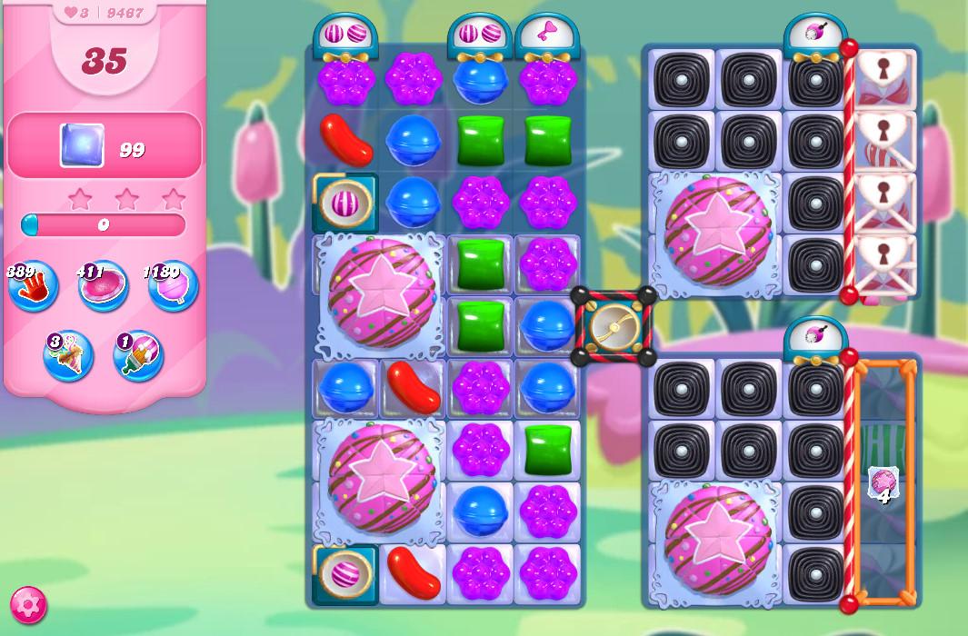 Candy Crush Saga level 9617
