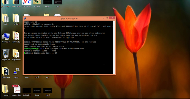 Access Raspberry pi GUI and command line from y    | element14