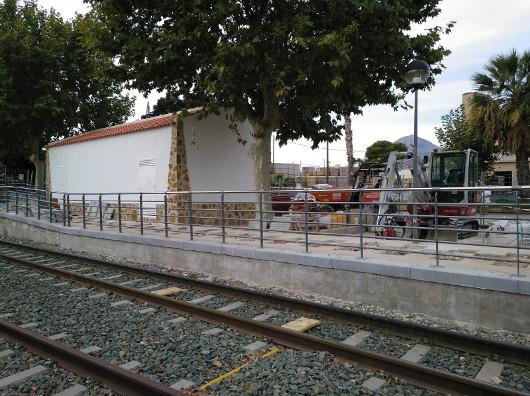 La Generalitat inicia los trabajos del nuevo enclavamiento de L'Alfàs del Pi del TRAM d'Alacant