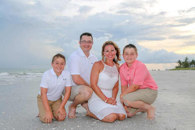 sanibel island professional family photograph