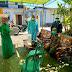 Babinsa Kelurahan Parit Mayor Dampingi Tim Tracer Lakukan Tracing Kepada Warga Yang Terkonfirmasi Covid-19
