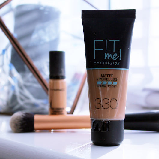 Maybelline Fit Me Matte & Poreless Foundation Review