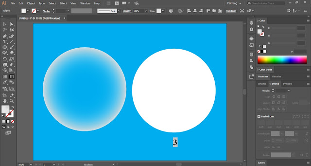 Crystal Ball in Adobe Illustrator