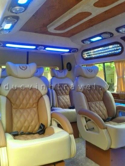 Cho thuê xe Ford Transit Dcar 2014 VIP Bus - Luxury Business 2