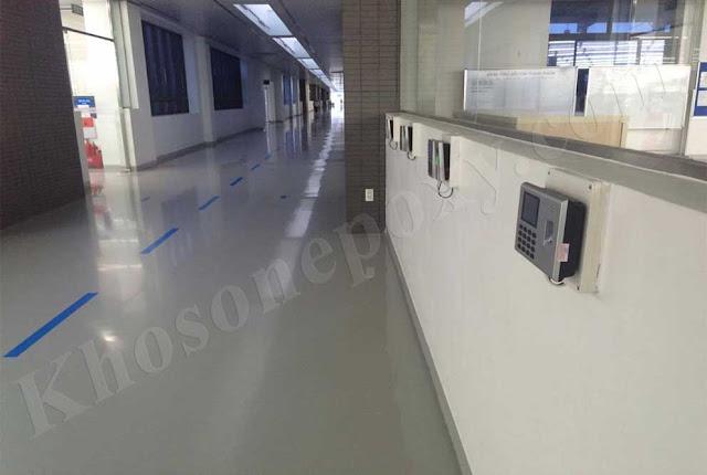 Sơn epoxy chống tĩnh điện cho nhà xưởng