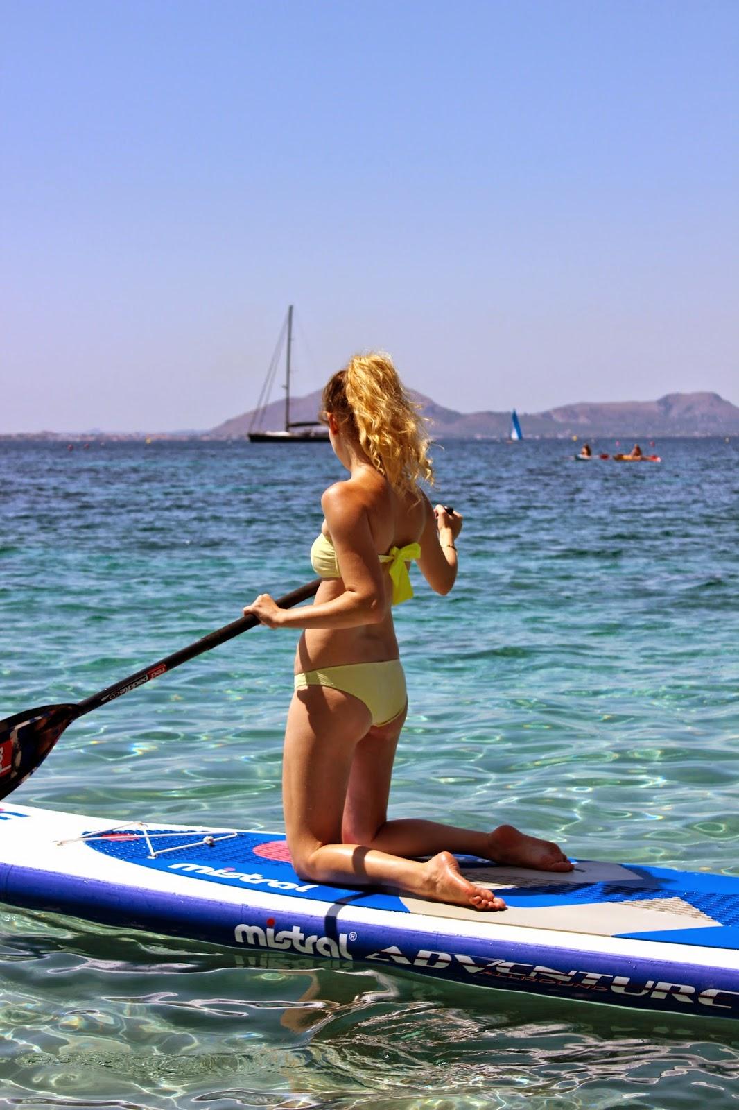 Paddle surfing | Mallorca, Spain