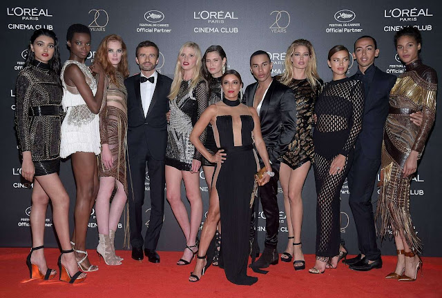 Eva Longoria and her transparencies at the Festival and Cinema in Cannes