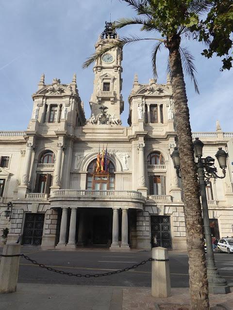 Palazzo dell'Ayuntamiento a valencia