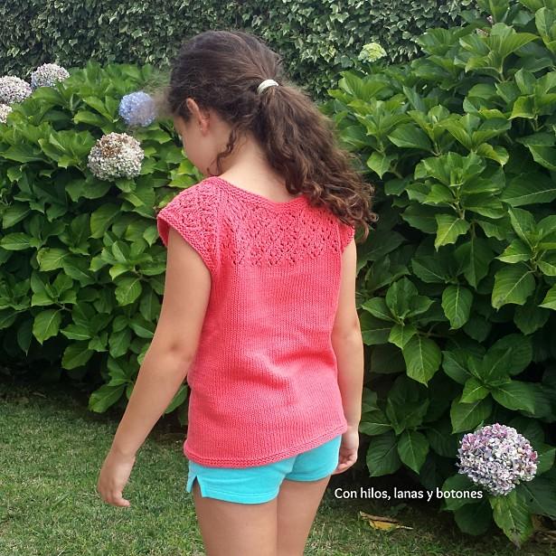 Con hilos, lanas y botones: Aures Minikins Tee (patrón de Rhiannon Owens)