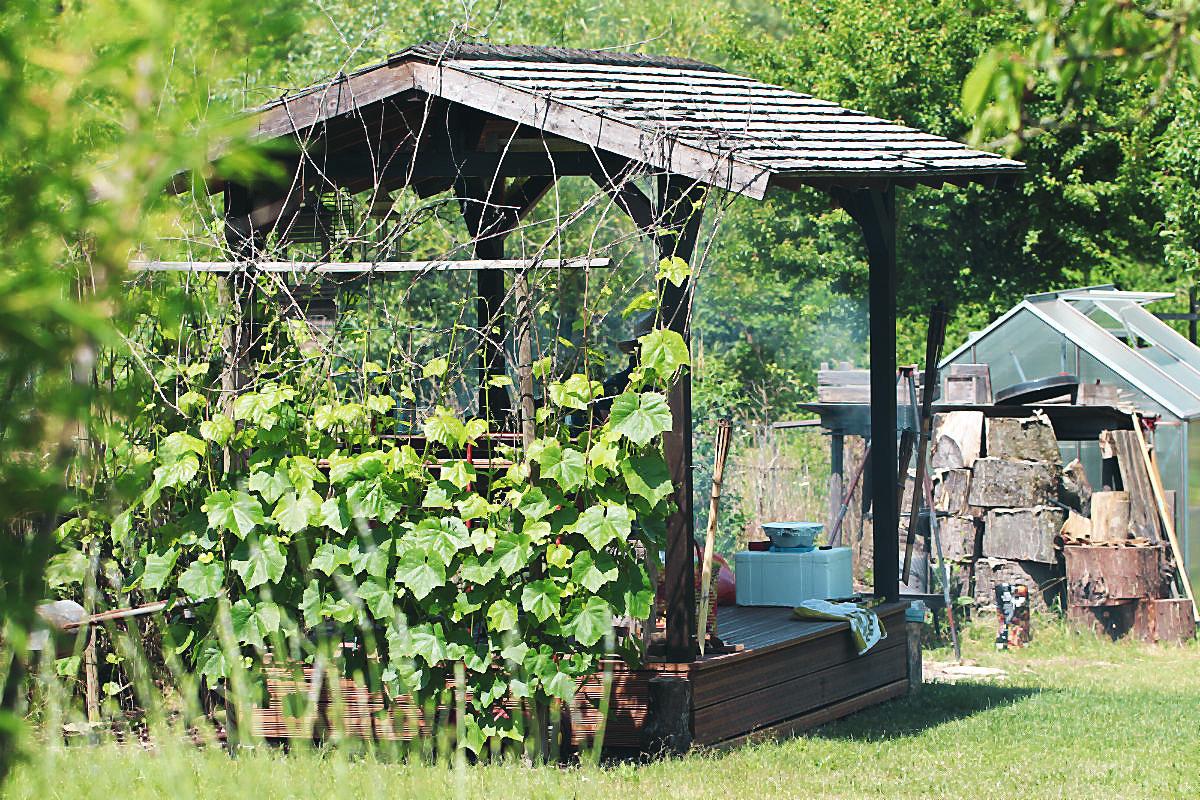 Unser Teepavillon im Garten  | Arthurs Tochter kocht von Astrid Paul. Der Blog für food, wine, travel & love