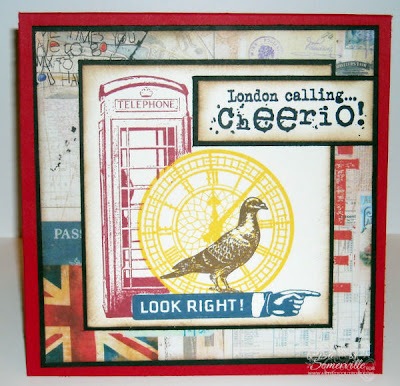 Stamps - Artistic Outpost London Underground, London Elements