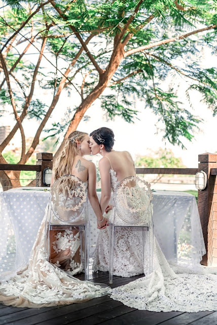 BRISBANE WEDDINGS SAME SEX MARRIAGE PHOTOGRAPHY STYLING BRIDAL GOWNS