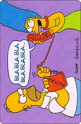 Bollycao The Simpsons Cromo 5