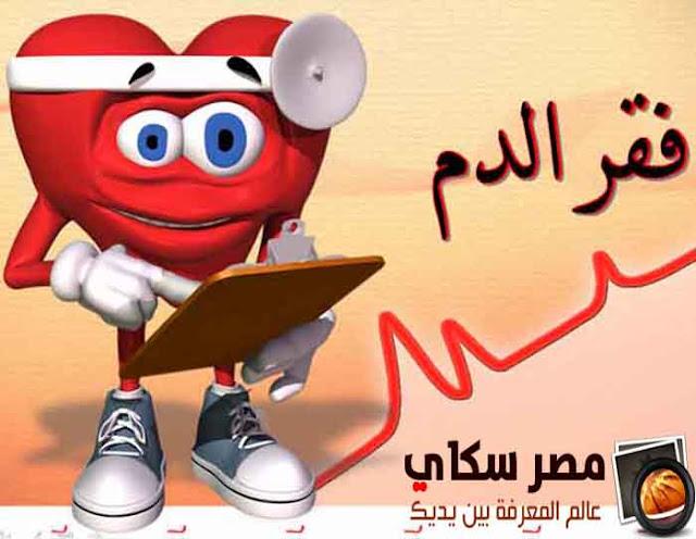 أسباب الأنيميا وفقر الدم وطرق العلاج Anemia
