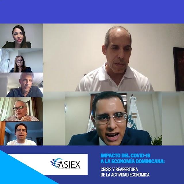 ASIEX y Ministro de Economía abordan oportunidades post COVID-19 para los sectores económicos