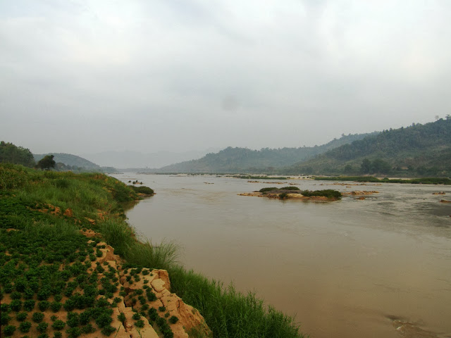 The mighty Mekong River in Chiang Rai - Thailand