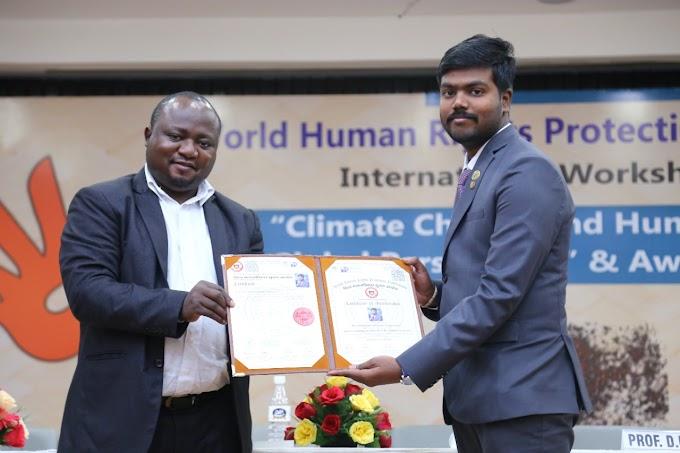 Odisha के पी. प्रशांत मानद डॉक्टरेट से सम्मानित