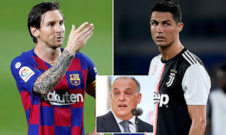 Ronaldo's departure from Real Madrid had almost no impact, but losing Messi from Barcelona will have a knock-on effect - LaLiga chief Javier Tebas says