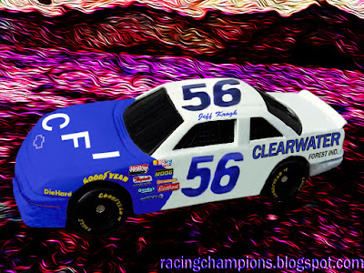 Jeff Krogh #56 Clearwater Forest Ind. Chevy Racing Champions 1/64 NASCAR diecast blog 1997 1998 1999 Busch Grand National CFI Idaho