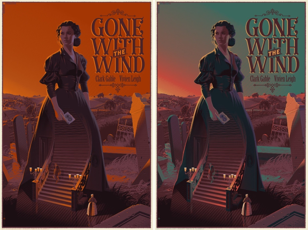 The Blot Says...: Gone with the Wind Screen Print by ...