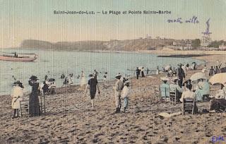 pays basque autrefois plage